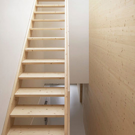Wooden Stairs, Amsterdam House