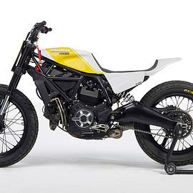Bad Winners - Ducati Scrambler 800 flat tracker