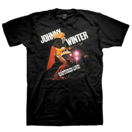 JOHNNY WINTER / CAPTURED / T-Shirts Tシャツ ジョニー・ウィンター