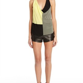 ALEXANDER WANG - Draped Color Blocked Tank Thumb