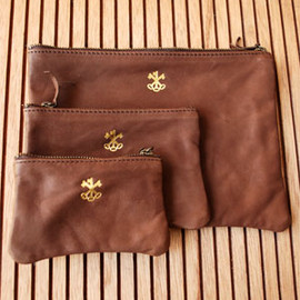 ARTS&SCIENCE - leather pouch set