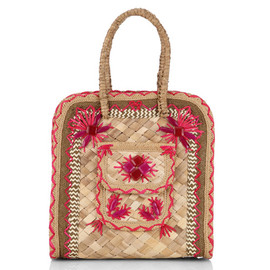 ANYA HINDMARCH - IPANEMA SMALL BASKET IN STRAW