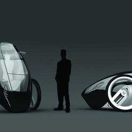 HONDA - Sexy City-Pod | The single-axle Honda type E concept