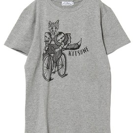 MAISON KITSUNÉ - FOX ON A BIKE