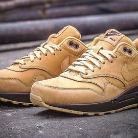 Nike - NIKE AIR MAX 1 FLAX/FLAX-BAROQUE BROWN