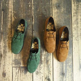 Ambassadors by Verginia - plane toe suede shoes