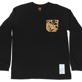 BBP - 5 Borough Camo L/S Tee