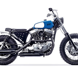 Young Guns Speed Shop - 'DK' Harley Davidson  Sportster Tracker
