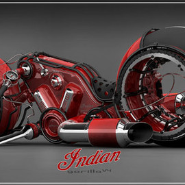 Indian Motocycle LUMBEE ラムビーソール