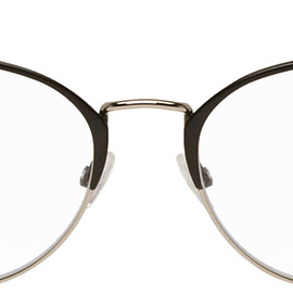 Tom Ford - Black Blue Block Metal Glasses 192076M133065