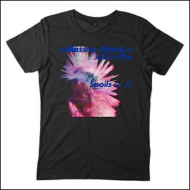 massive attack - SPOILS BLACK T-SHIRT
