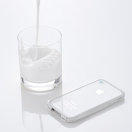 DEFF - Deff 【iPhone4/4S対応バンパー】 CLEAVE BUMBER for iPhone4/4S CRYSTAL EDITION クリアクリスタル DCB-IP40CRCL