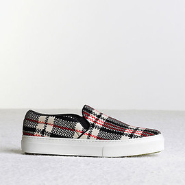 CELINE - Skate Check in Silk Fabric Multicolour
