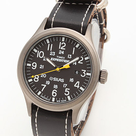 TIMEX, SILAS - EXPEDITION SCOUT METAL BLACK DIAL