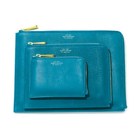 Travel clutch / Cerulean Collection