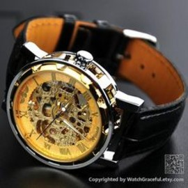Steampunk Watch Leather