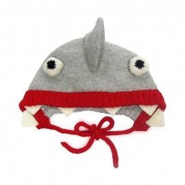 The Miniature Knit Shop - Shark Bonnet