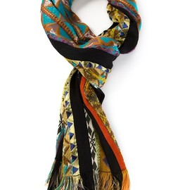 Etro - Geometric Patterned Scarf