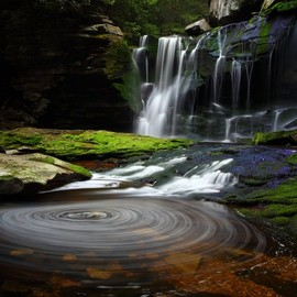 West Virginia - Elakala Waterfalls at Blackwater Falls State Parks