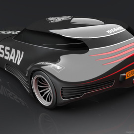 Nissan - Deltawing concept