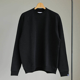 Graphpaper - Raglan Sweat [GP×LOOPWHEELER] #black