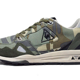 "le coq sportif - LCS-R 1000 KL ""French Military"" ""KICKS LAB."" ""LIMITED EDITION"""