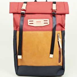 Master-Piece - Red Cordura Hedge Satchel Bag