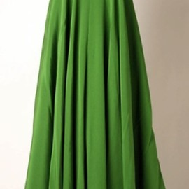 Madame Grès - green dress 1960's.
