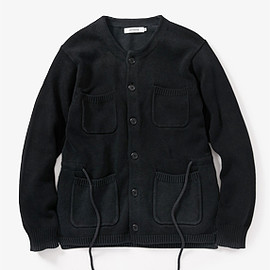nonnative - COWBOY CARDIGAN COTTON YARN VW
