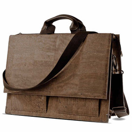 "Corkor - Briefcase Mens Laptop Bag in Cork 15"" - Gift Idea for Him by Corkor"