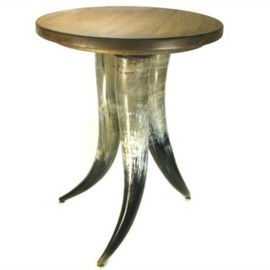 ABBEYHORN - Cow Horn Table