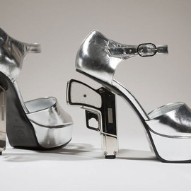 Chanel - gun heels for Shoes Obsession: Extraordinary heels