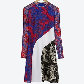 Carven - SS2015 Printed Lace Dress