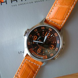 Hamilton - Khaki GMT Air Race