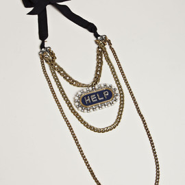 LANVIN, ランバン - WOMEN'S SHOW PIECE COLLIER NECKLACE