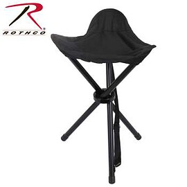 ROTHCO - Rothco Collapsible Stool With Carry Strap