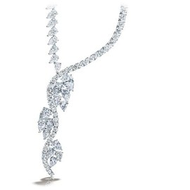 HARRY WINSTON - Vine Drop Necklace