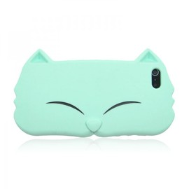 alanatt - Cute Cat Face Soft silicon case for iPhone 4 / 4S