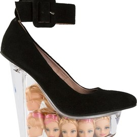 JEFFREY CAMPBELL - Barbie Doll Head Killa platform pumps