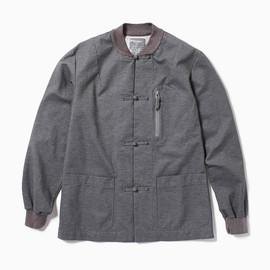 the POOL aoyama - CHINA JACKET (Gray)