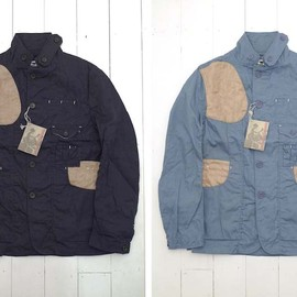 Engineered Garments - oxford shooting jacket