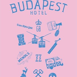 Wes Anderson - THE GRAND BUDAPEST HOTEL - poster