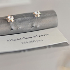 kataoka/jewelry and objets d'art - diamond pierce