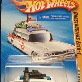 HOT WHEELS - Ghostbuster ECTO-1