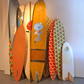 Barry McGee - skateboard