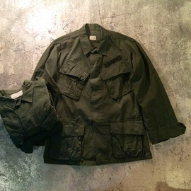 U.S.Militar - Jungle Fatigue Jacket/1960's Vintage