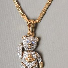 Vivienne Westwood - JEWELLERY Diamante Teddybear Necklace
