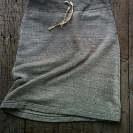 n100 - Cashmere Cotton Sweat Jersey Skirt