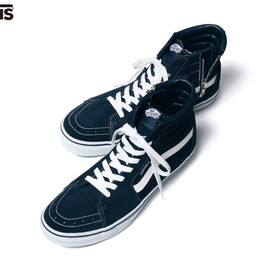 SOPHNET. - VANS SK8-HI ZIP UP/navy