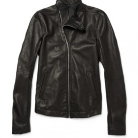 Rick Owens - Leather Biker Jacket